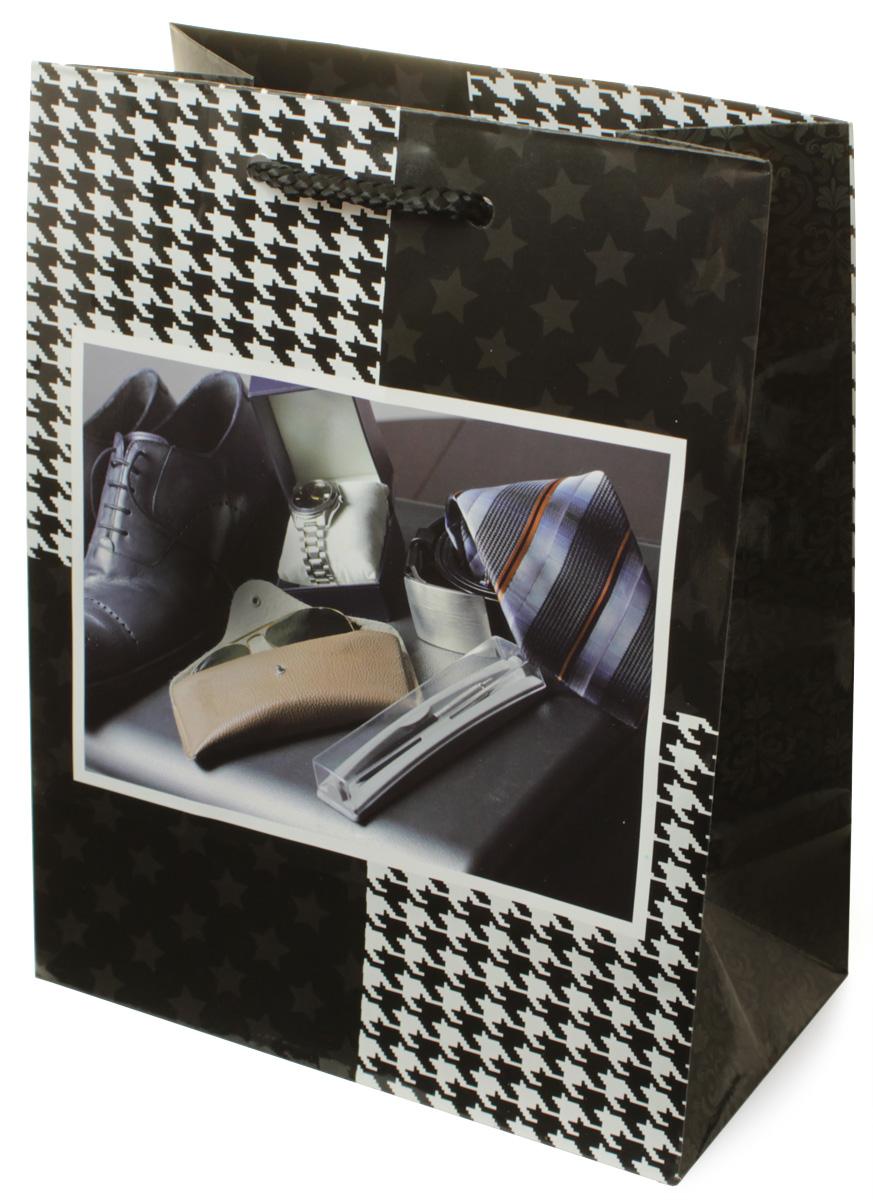 Пакет подарочный МегаМАГ Мужская тематика, 18 х 22,7 х 10 см. H2. 2173 M2173 MПакет подарочный ламинированный. Ручки-шнурки. Размер: 18 х 22,7 х10 см.