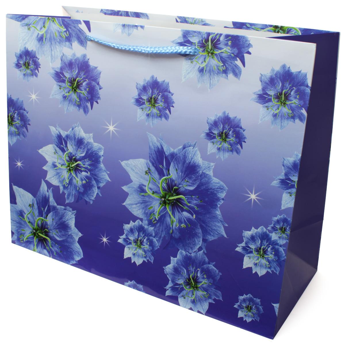 Пакет подарочный МегаМАГ Цветы, 32,7 х 26,4 х 13,6 см. 814 LH814 LHПодарочный пакет МегаМАГ, изготовленный из плотной ламинированной бумаги, станет незаменимым дополнением к выбранному подарку. Для удобной переноски на пакете имеются ручки-шнурки. Подарок, преподнесенный в оригинальной упаковке, всегда будет самым эффектным и запоминающимся. Окружите близких людей вниманием и заботой, вручив презент в нарядном, праздничном оформлении.