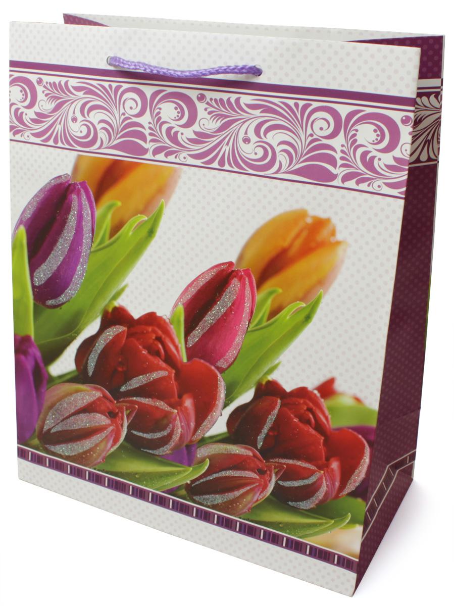 Пакет подарочный МегаМАГ Premium. Цветы, 26,4 х 32,7 х 13,6 см. 3038 LP3038 LPПодарочный пакет МегаМАГ, изготовленный из плотной ламинированной бумаги, станет незаменимым дополнением к выбранному подарку. Для удобной переноски на пакете имеются ручки-шнурки. Подарок, преподнесенный в оригинальной упаковке, всегда будет самым эффектным и запоминающимся. Окружите близких людей вниманием и заботой, вручив презент в нарядном, праздничном оформлении.
