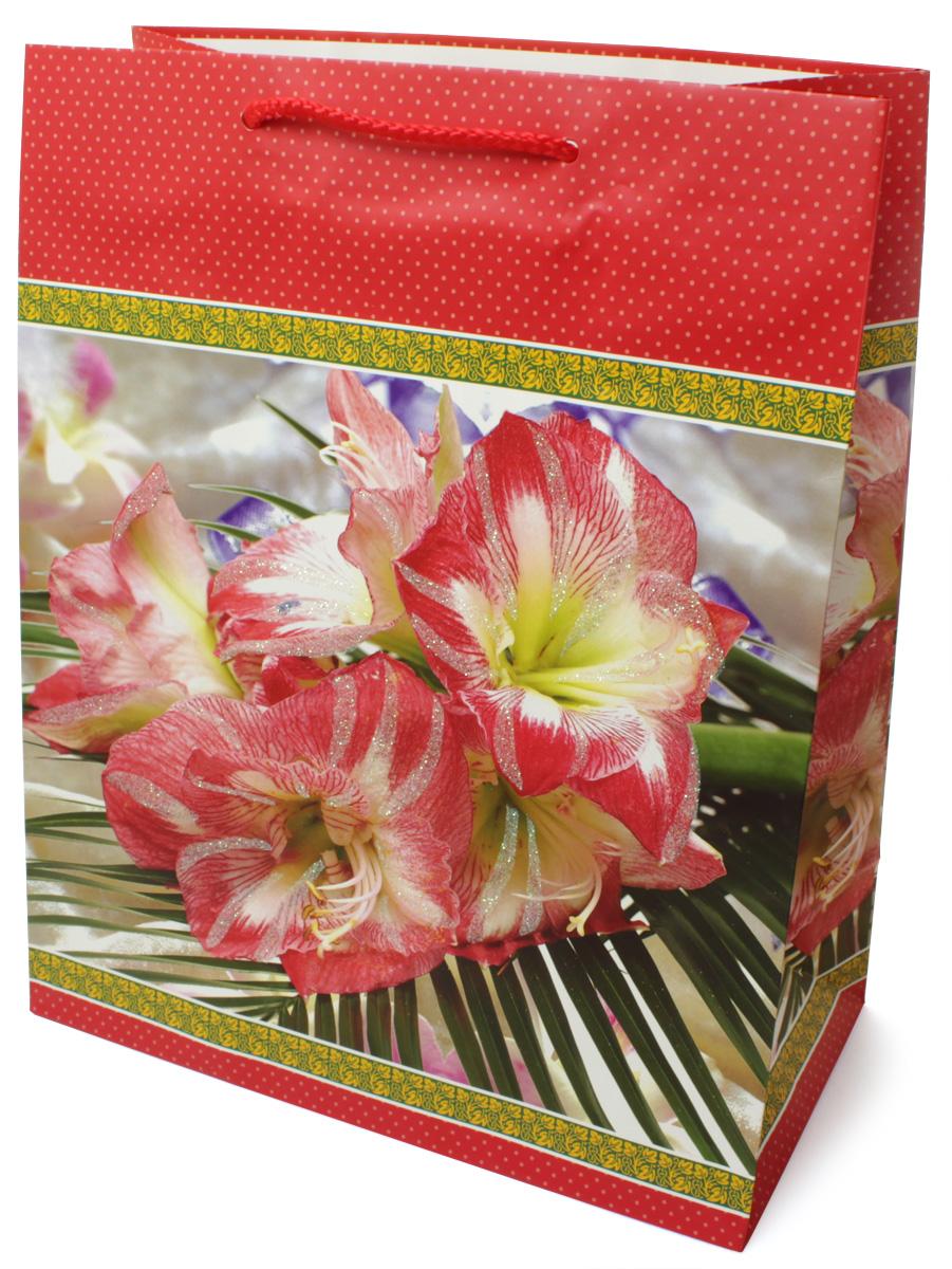 Пакет подарочный МегаМАГ Premium. Цветы, 26,4 х 32,7 х 13,6 см. 3039 LP3039 LPПодарочный пакет МегаМАГ, изготовленный из плотной ламинированной бумаги, станет незаменимым дополнением к выбранному подарку. Для удобной переноски на пакете имеются ручки-шнурки. Подарок, преподнесенный в оригинальной упаковке, всегда будет самым эффектным и запоминающимся. Окружите близких людей вниманием и заботой, вручив презент в нарядном, праздничном оформлении.