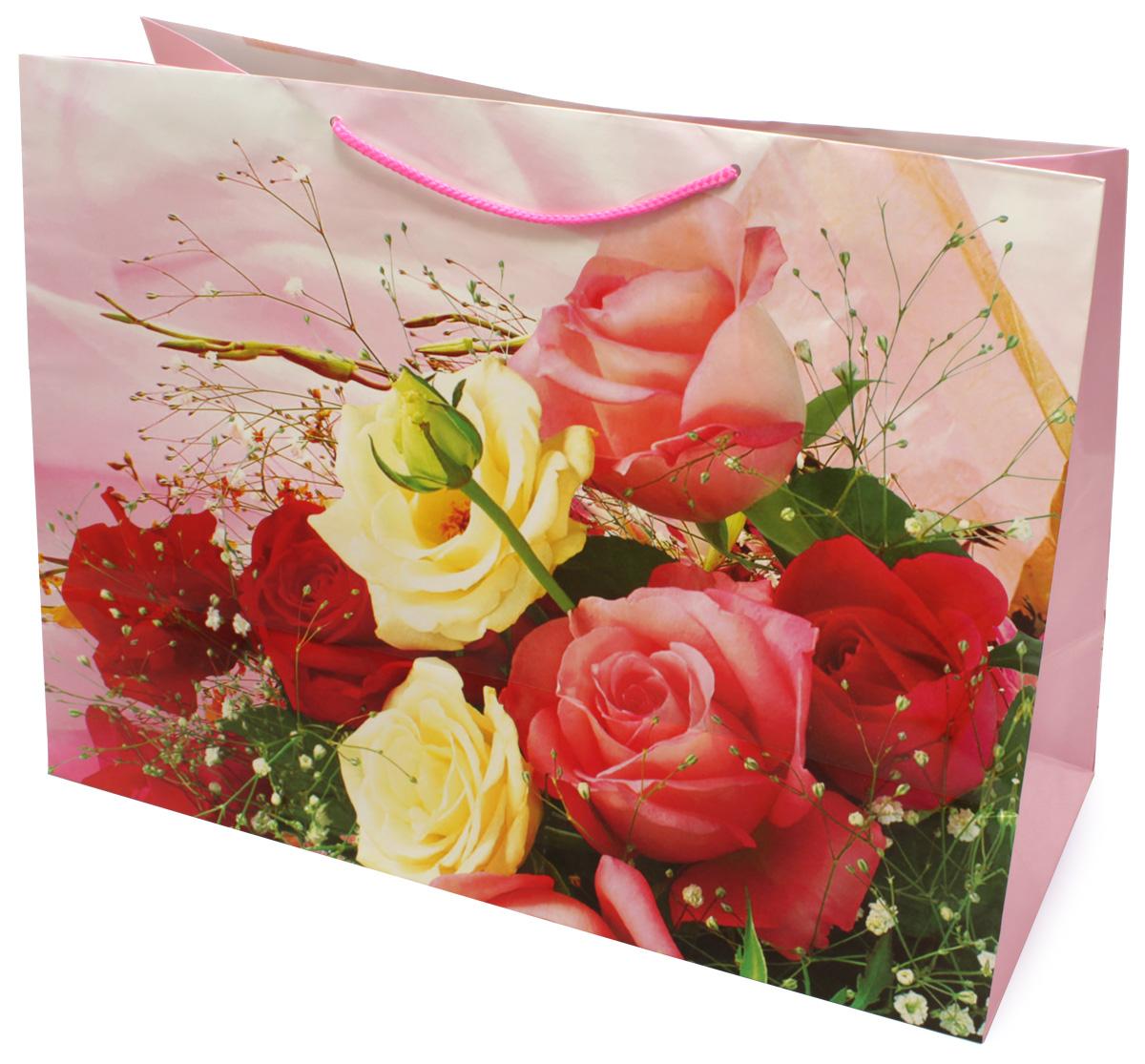 Пакет подарочный МегаМАГ Mix. Цветы, 56 х 41 х 24 см. 903/904 XXLH903/904 XXLHПодарочный пакет МегаМАГ, изготовленный из плотной ламинированной бумаги, станет незаменимым дополнением к выбранному подарку. Для удобной переноски на пакете имеются ручки-шнурки. Подарок, преподнесенный в оригинальной упаковке, всегда будет самым эффектным и запоминающимся. Окружите близких людей вниманием и заботой, вручив презент в нарядном, праздничном оформлении.