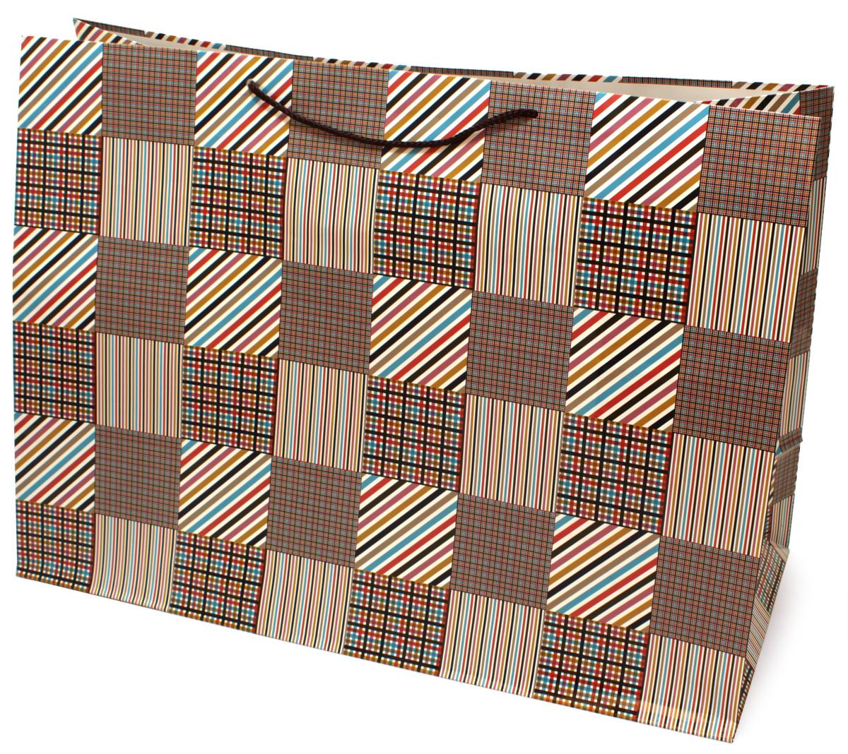Пакет подарочный МегаМАГ Mix. Клетка, 56 х 41 х 24 см. 924/925 XXLH924/925 XXLHПодарочный пакет МегаМАГ, изготовленный из плотной ламинированной бумаги, станет незаменимым дополнением к выбранному подарку. Для удобной переноски на пакете имеются ручки-шнурки. Подарок, преподнесенный в оригинальной упаковке, всегда будет самым эффектным и запоминающимся. Окружите близких людей вниманием и заботой, вручив презент в нарядном, праздничном оформлении.