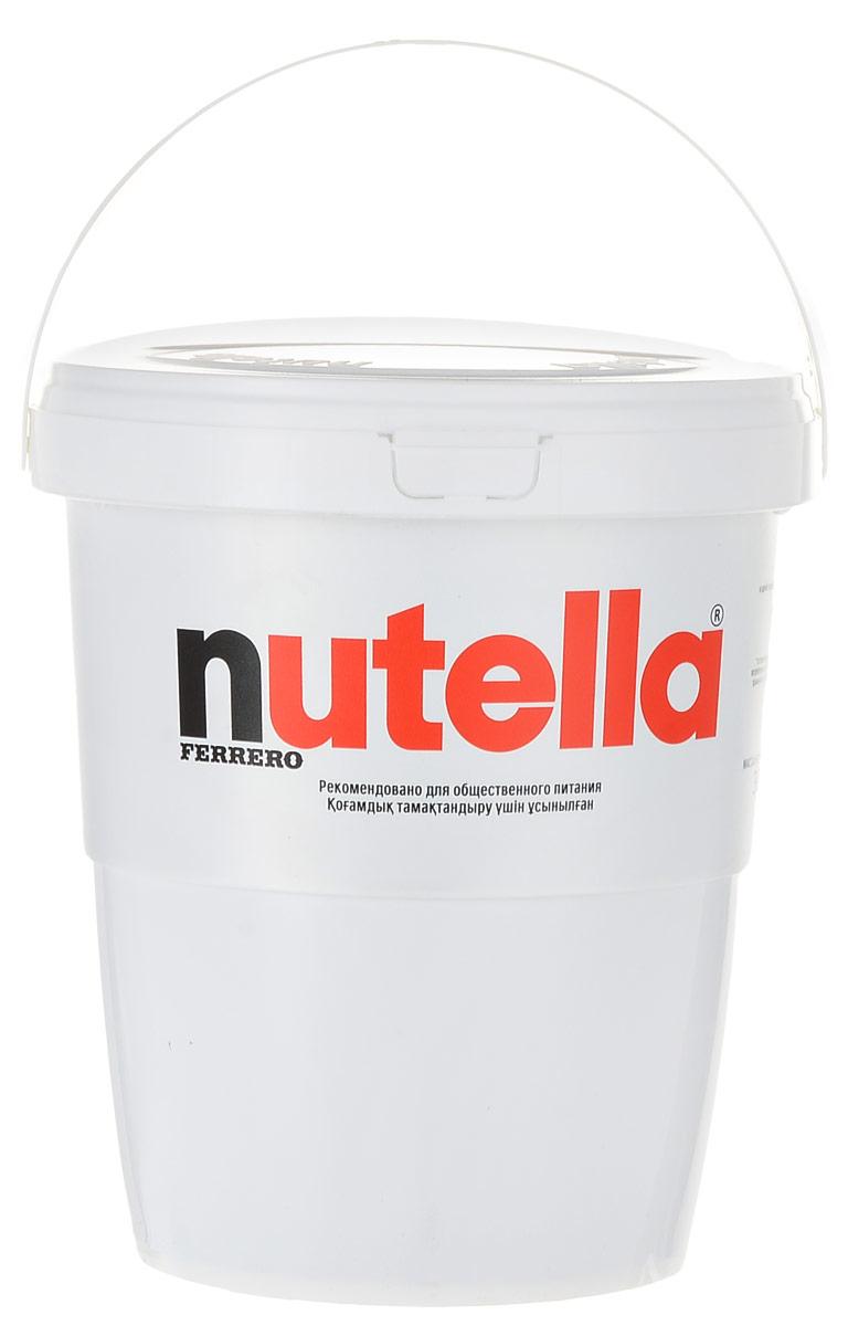 Nutella паста ореховая с добавлением какао, 3 кгХР77130332/77119301Nutella обладает неповторимым вкусом лесных орехов и какао, а ее нежная кремовая текстура делает вкус еще интенсивнее. Секрет уникального вкуса в особенном рецепте, отборных ингредиентах и тщательном приготовлении. Сегодня Nutella является одной из самых узнаваемых и любимых марок в мире, продуктом, продажи которого составляют треть годового оборота компании Ferrero. Хороший день начинается с Nutella! Уважаемые клиенты! Обращаем ваше внимание, что полный перечень состава продукта представлен на дополнительном изображении.