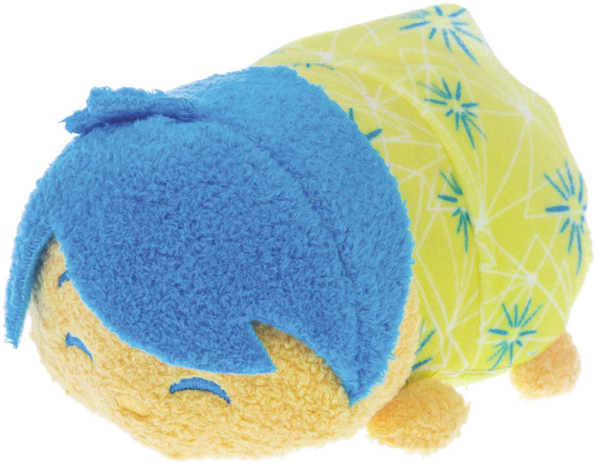 Tsum Tsum Мягкая озвученная игрушка Joy 13 см5866Q_JoyTsum Tsum - это любимые герои из мультфильмов Disney необычной продолговатой формы. Милые игрушки интересно коллекционировать и разыгрывать с ними сценки: как из мультфильмов, так и свои собственные. Мягкая игрушка Joy порадует и развеселит ребенка, ведь при нажатии на нее, игрушка издает забавные звуки и у нее светятся щечки. Игрушка работает от незаменяемых батареек.