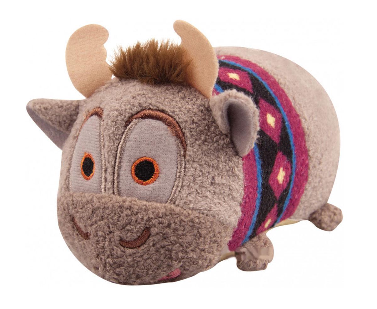 Tsum Tsum Мягкая озвученная игрушка Sven 13 см5866Q_SvenTsum Tsum - это любимые герои из мультфильмов Disney необычной продолговатой формы. Милые игрушки интересно коллекционировать и разыгрывать с ними сценки: как из мультфильмов, так и свои собственные. Мягкая игрушка Sven порадует и развеселит ребенка, ведь при нажатии на нее, игрушка издает забавные звуки и у нее светятся щечки. Игрушка работает от незаменяемых батареек.