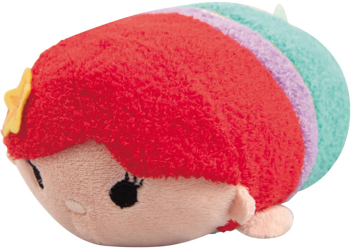 Tsum Tsum Мягкая озвученная игрушка Ariel 13 см5866Q_ArielTsum Tsum - это любимые герои из мультфильмов Disney необычной продолговатой формы. Милые игрушки интересно коллекционировать и разыгрывать с ними сценки: как из мультфильмов, так и свои собственные. Мягкая игрушка Ariel порадует и развеселит ребенка, ведь при нажатии на нее, игрушка издает забавные звуки и у нее светятся щечки. Игрушка работает от незаменяемых батареек.