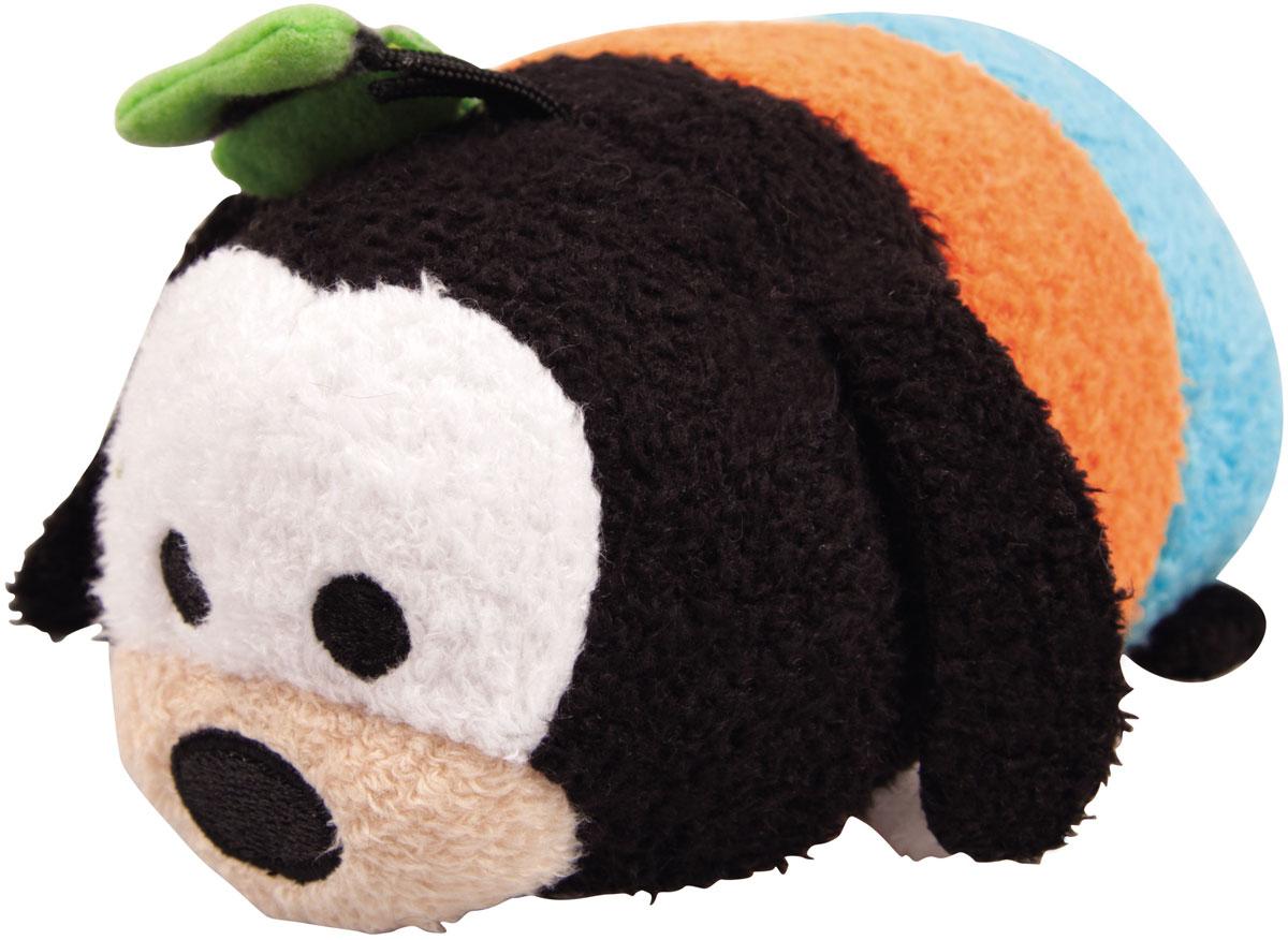 Tsum Tsum Мягкая озвученная игрушка Goofi 13 см5866Q_GoofiTsum Tsum - это любимые герои из мультфильмов Disney необычной продолговатой формы. Милые игрушки интересно коллекционировать и разыгрывать с ними сценки: как из мультфильмов, так и свои собственные. Мягкая игрушка Goofi порадует и развеселит ребенка, ведь при нажатии на нее, игрушка издает забавные звуки и у нее светятся щечки. Игрушка работает от незаменяемых батареек.