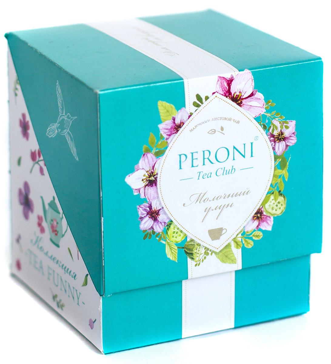 "Peroni Tea Funny ""Молочный улун"" черный листовой чай, 60 г 50t"