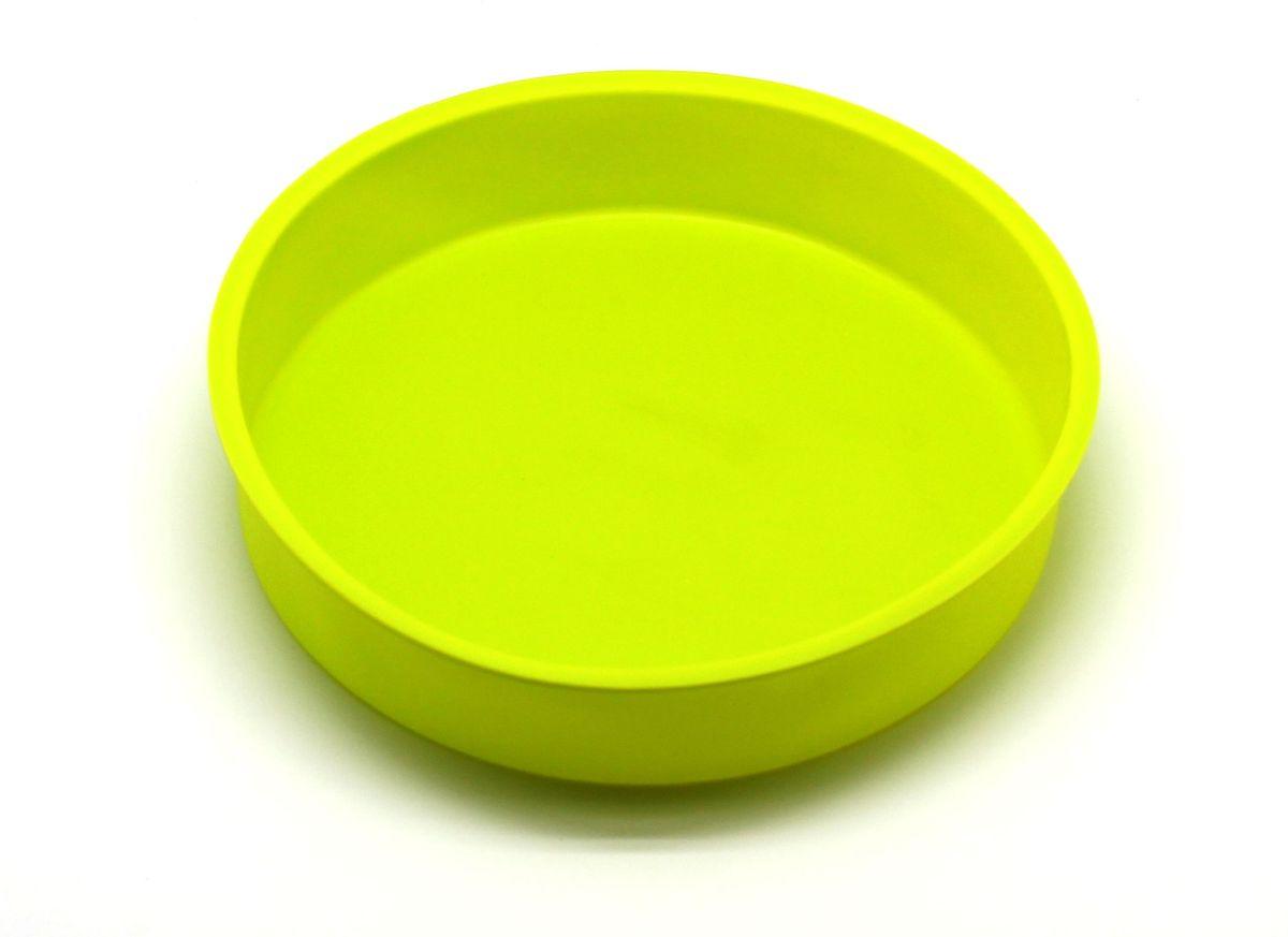 Форма для выпечки Atlantis Торт, цвет: зеленый, диаметр 24,8 см. SC-BK-004-GSC-BK-004-GФорма для выпечки силиконовая Atlantis — это отличная форма для выпекания пирога, которая сделана из пищевого силикона. Посуда идеально подходит для выпекания различной выпечки, ведь форма предотвращает тесто от «вытекания», при этом, предоставляя возможность с легкостью извлечь готовую выпечку и получить на ней красивый рисунок. Пищевой силикон абсолютно безопасен и не вступает в реакцию с продуктами, а так же не влияет на запах и вкус готового изделия.