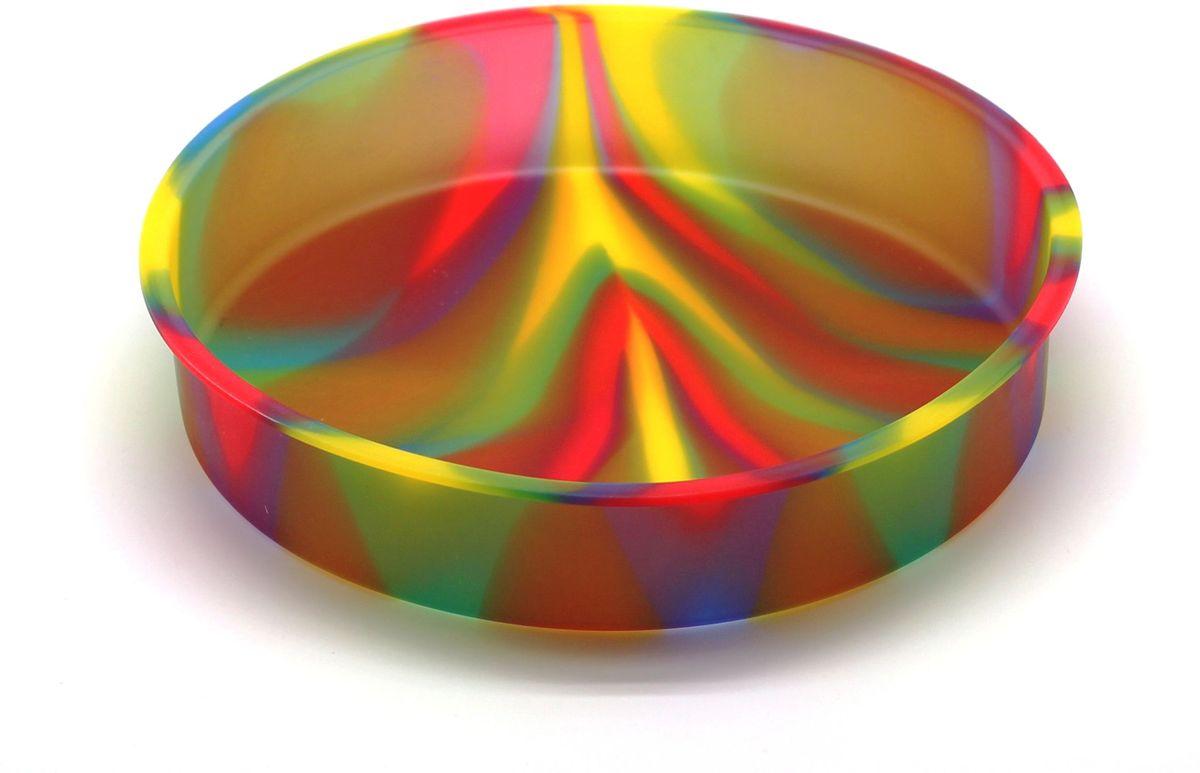 Форма для выпечки Atlantis Торт, диаметр 24,8 см. SC-BK-004M-CSC-BK-004M-CФорма для выпечки силиконовая Atlantis — это отличная форма для выпекания пирога, которая сделана из пищевого силикона. Посуда идеально подходит для выпекания различной выпечки, ведь форма предотвращает тесто от «вытекания», при этом, предоставляя возможность с легкостью извлечь готовую выпечку и получить на ней красивый рисунок. Пищевой силикон абсолютно безопасен и не вступает в реакцию с продуктами, а так же не влияет на запах и вкус готового изделия.