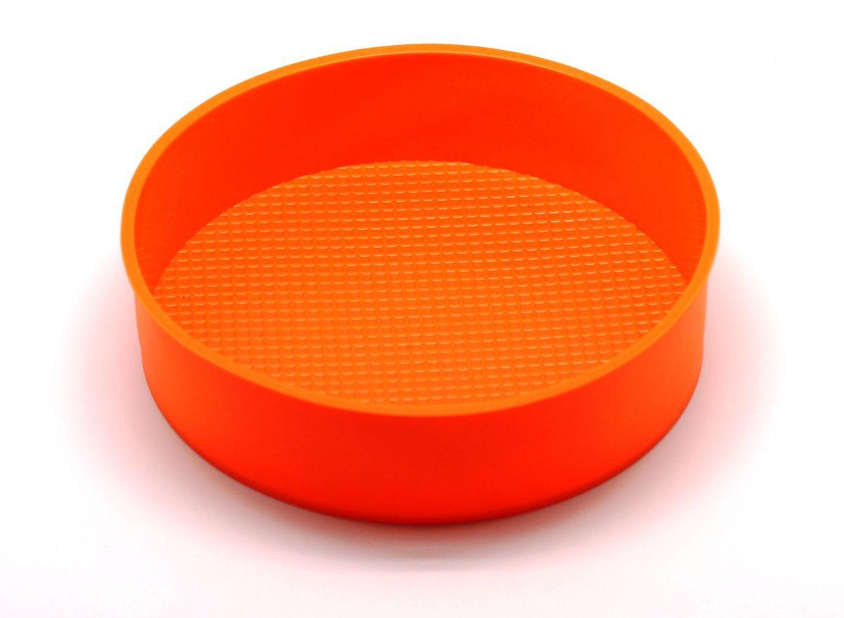 Форма для выпечки Atlantis, цвет: оранжевый, диаметр 24 см. SC-BK-013-OSC-BK-013-OФорма для выпечки силиконовая Atlantis — это отличная форма для выпекания пирога, которая сделана из пищевого силикона. Посуда идеально подходит для выпекания различной выпечки, ведь форма предотвращает тесто от «вытекания», при этом, предоставляя возможность с легкостью извлечь готовую выпечку и получить на ней красивый рисунок. Пищевой силикон абсолютно безопасен и не вступает в реакцию с продуктами, а так же не влияет на запах и вкус готового изделия.