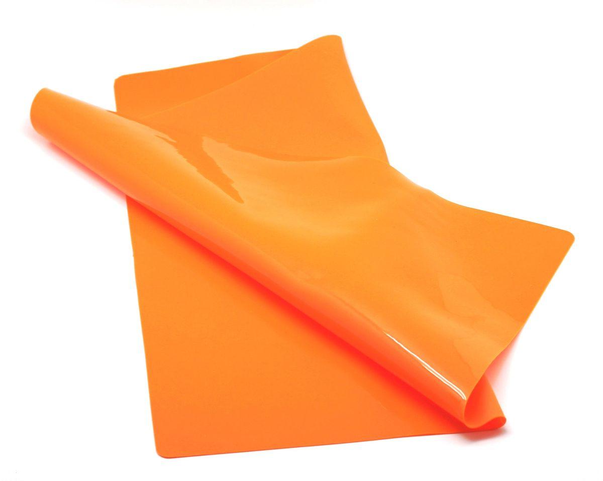 Коврик для теста Atlantis, цвет: оранжевый, 48 х 58 см. SC-MT-103-OSC-MT-103-OЗамечательное изделие с целым рядом исключительных свойств: идеально ложится на поверхность стола, тесто к нему не прилипает; складной – после использования можно скатать или свернуть; легко моется и не впитывает запахи, гигиеничен; устойчив к температурам -40 до +230 С.
