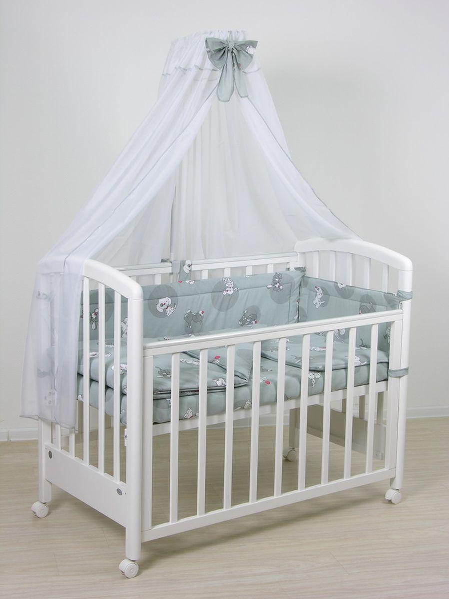 Фея Комплект белья для новорожденных Наши друзья цвет серый 7 предметов1012-3
