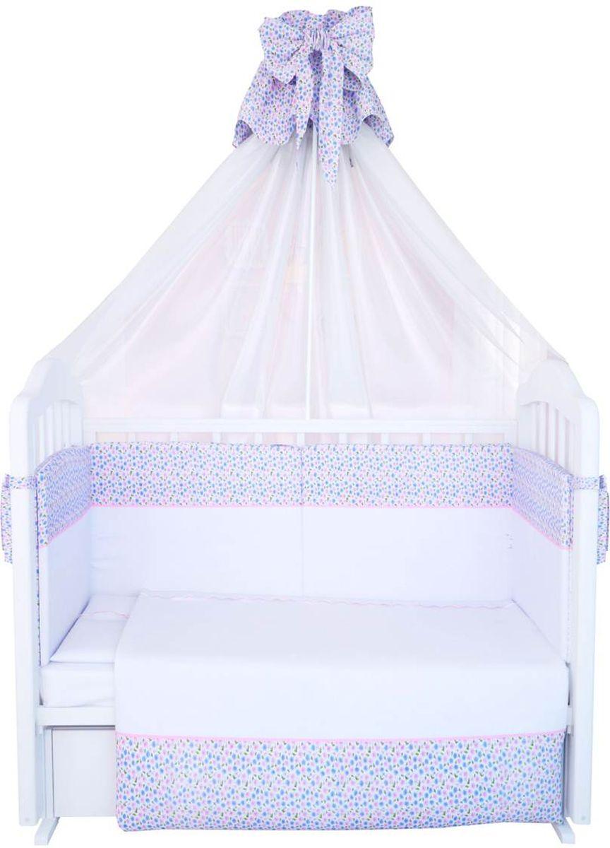 Фея Комплект белья для новорожденных Очарование цвет белый 7 предметов1093