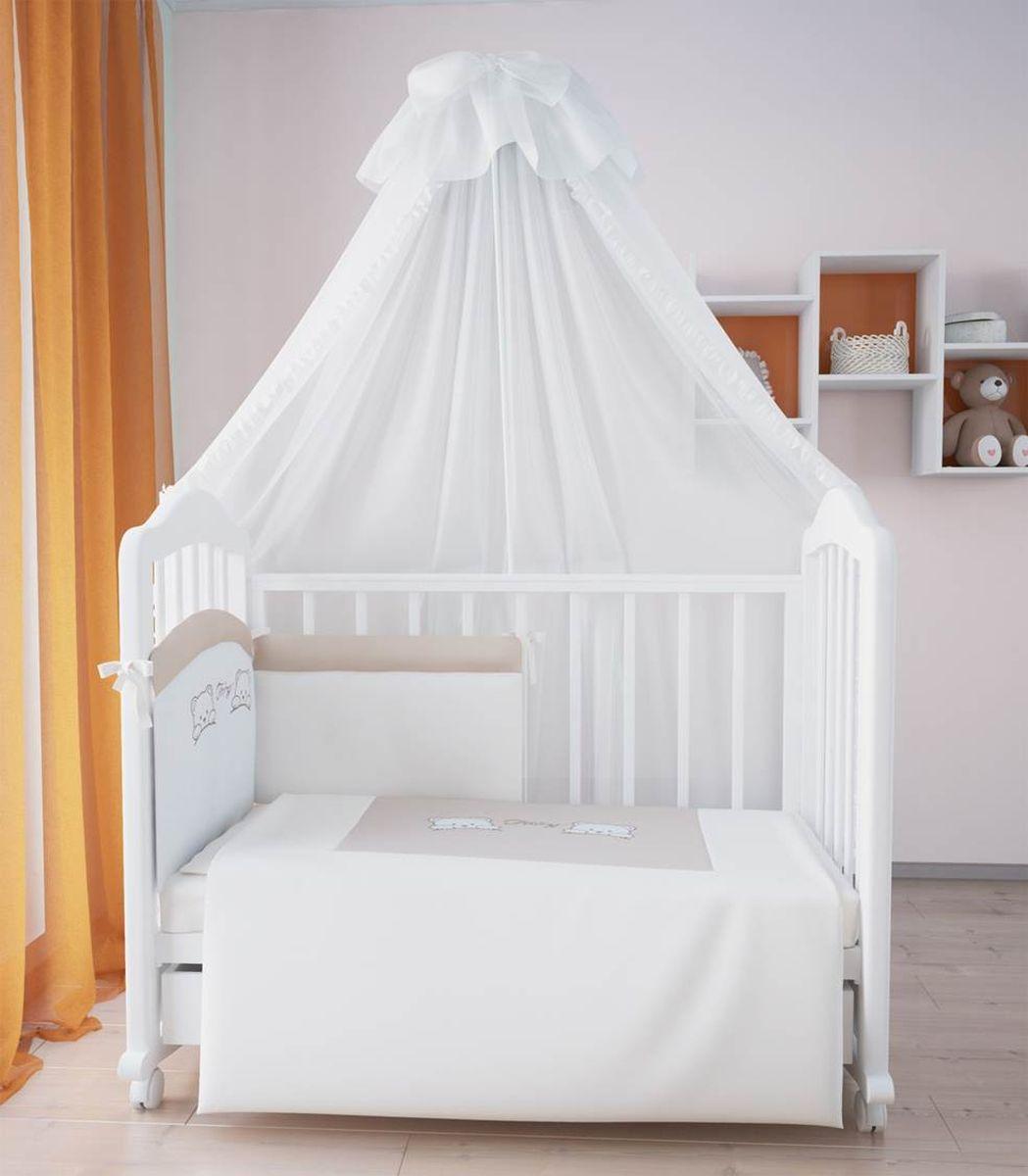 Fairy (ВПК) Fairy Комплект белья для новорожденных цвет бежевый коричневый 7 предметов 5585-01