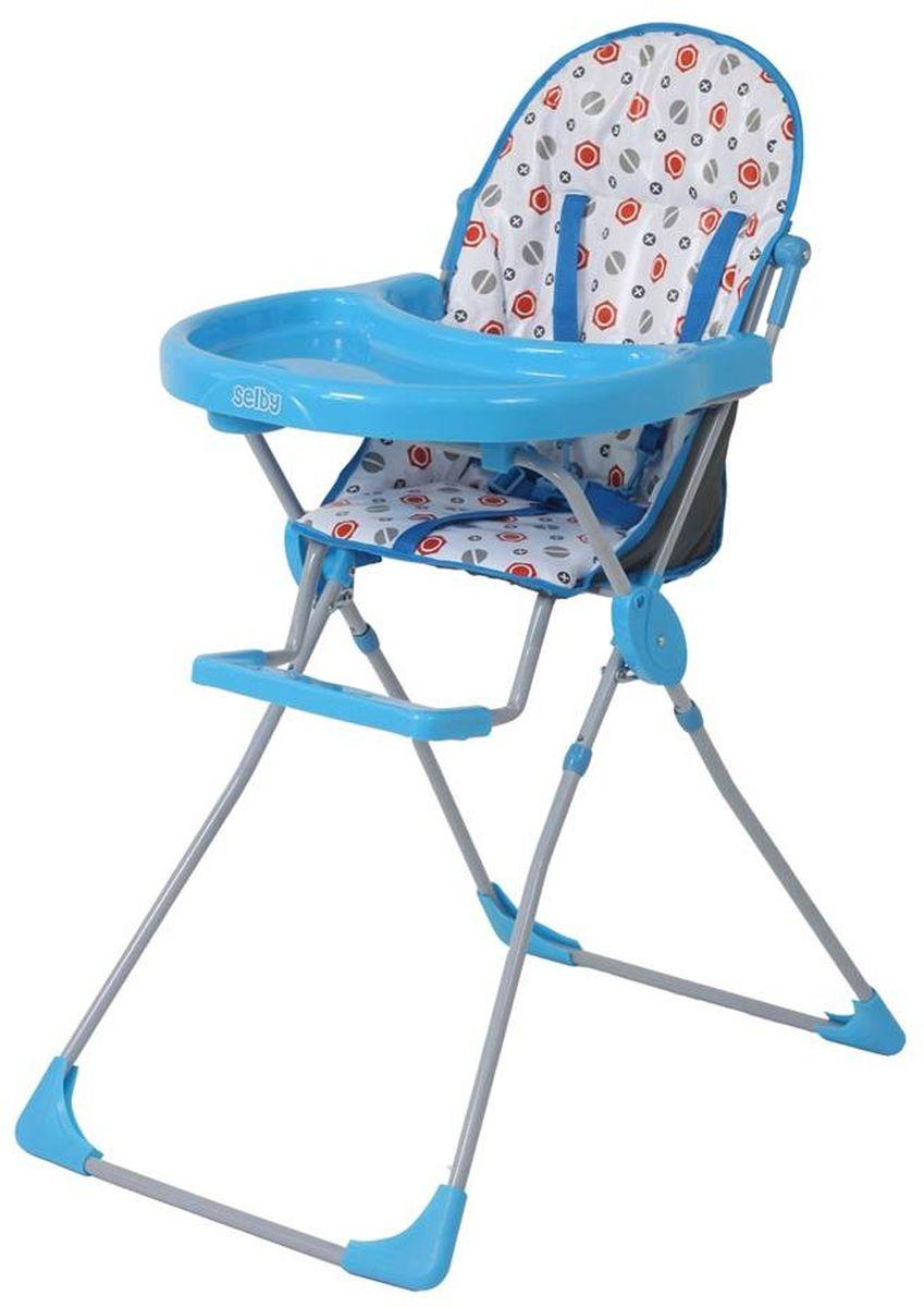 Selby Стульчик для кормления цвет голубой 5600-015600-01