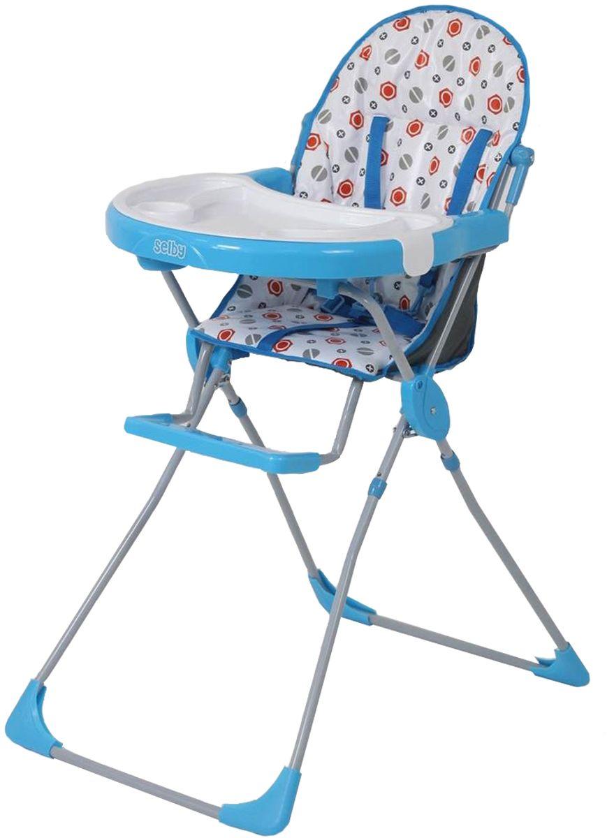Selby Стульчик для кормления цвет голубой 5601-015601-01