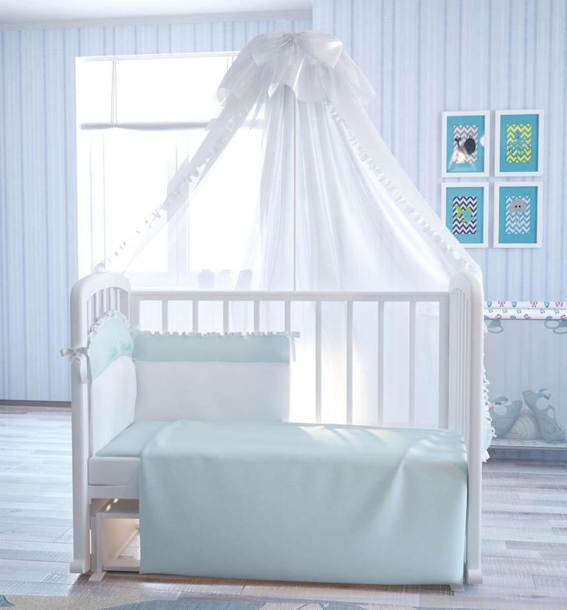 Fairy (ВПК) Fairy Комплект белья для новорожденных Сладкий сон цвет белый голубой 7 предметов 5618