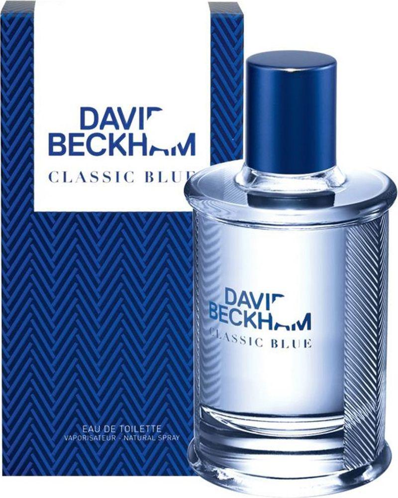 David Beckham Classic Blue Туалетная вода мужская 90 мл 32777822000