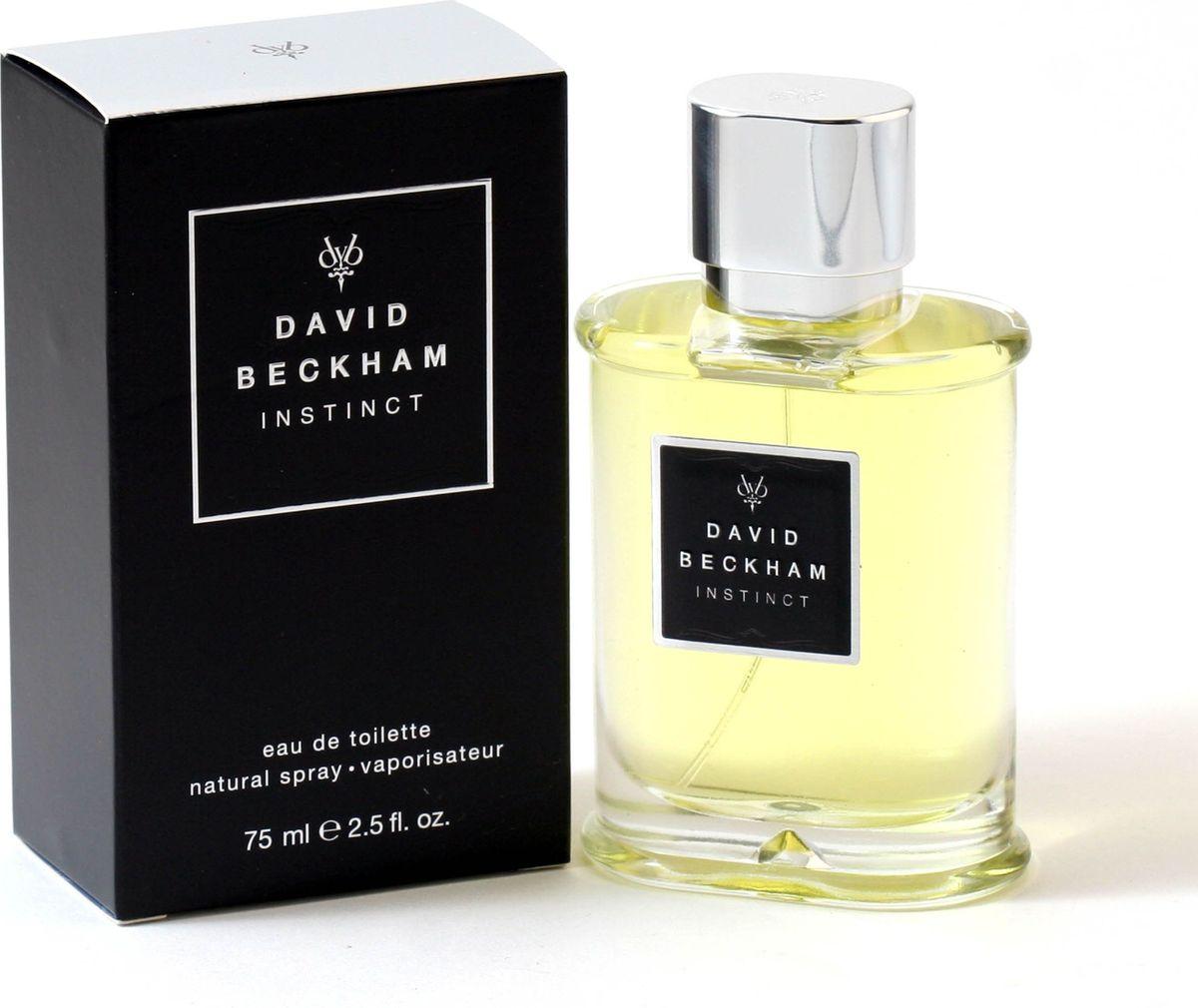 David Beckham Instinct Туалетная вода мужская 75 мл15000007000Это дебютный аромат, созданный Дэвидом и Викторией Бэкхэм в 2005 году. Флакон аромата выполнен в классическом для мужских ароматов флаконе. Единственным украшением служит массивный металлический колпачо