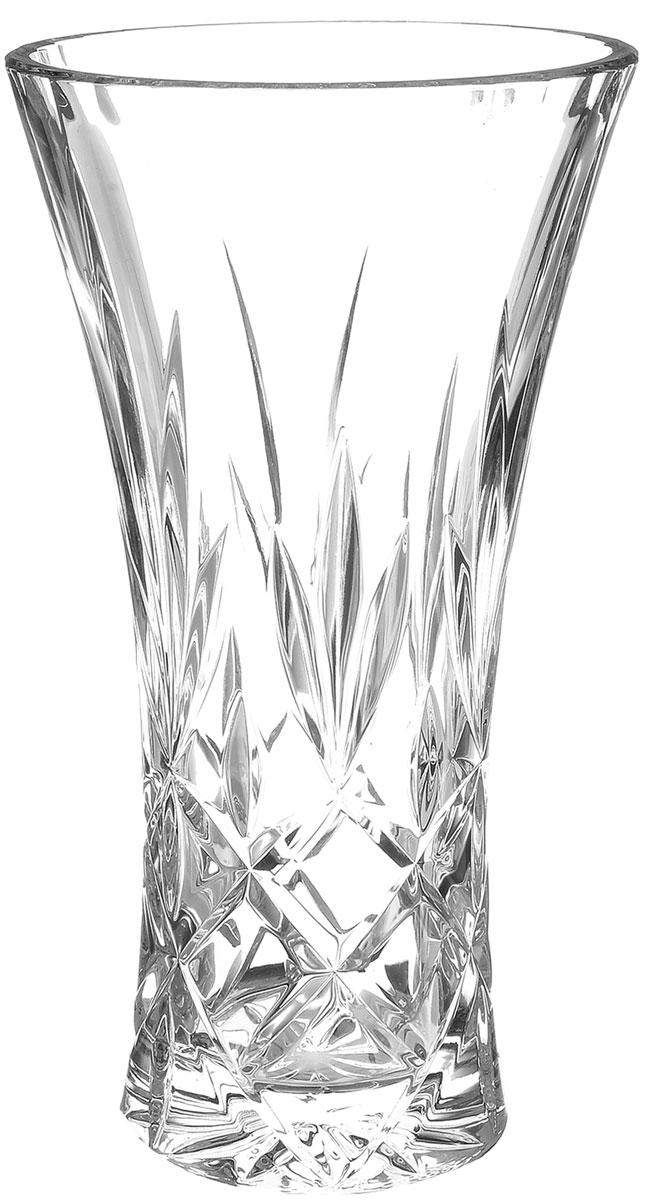Ваза Crystal Bohemia Christie, высота 25,5 см990/80195/0/03055/255-109Элегантная ваза Crystal Bohemia Christie выполнена из настоящего чешского хрусталя с содержанием 24% оксида свинца, что придает изделию поразительную прозрачность и чистоту, невероятный блеск, присущий только ювелирным изделиям, особое, ни с чем не сравнимое светопреломление и игру всеми красками спектра как при естественном, так и при искусственном освещении. Такая ваза подойдет для декора интерьера. Кроме того - это отличный вариант подарка для ваших близких и друзей. Высота вазы: 25,5 см. Диаметр вазы (по верхнему краю): 13 см. Объем вазы: 2 л.