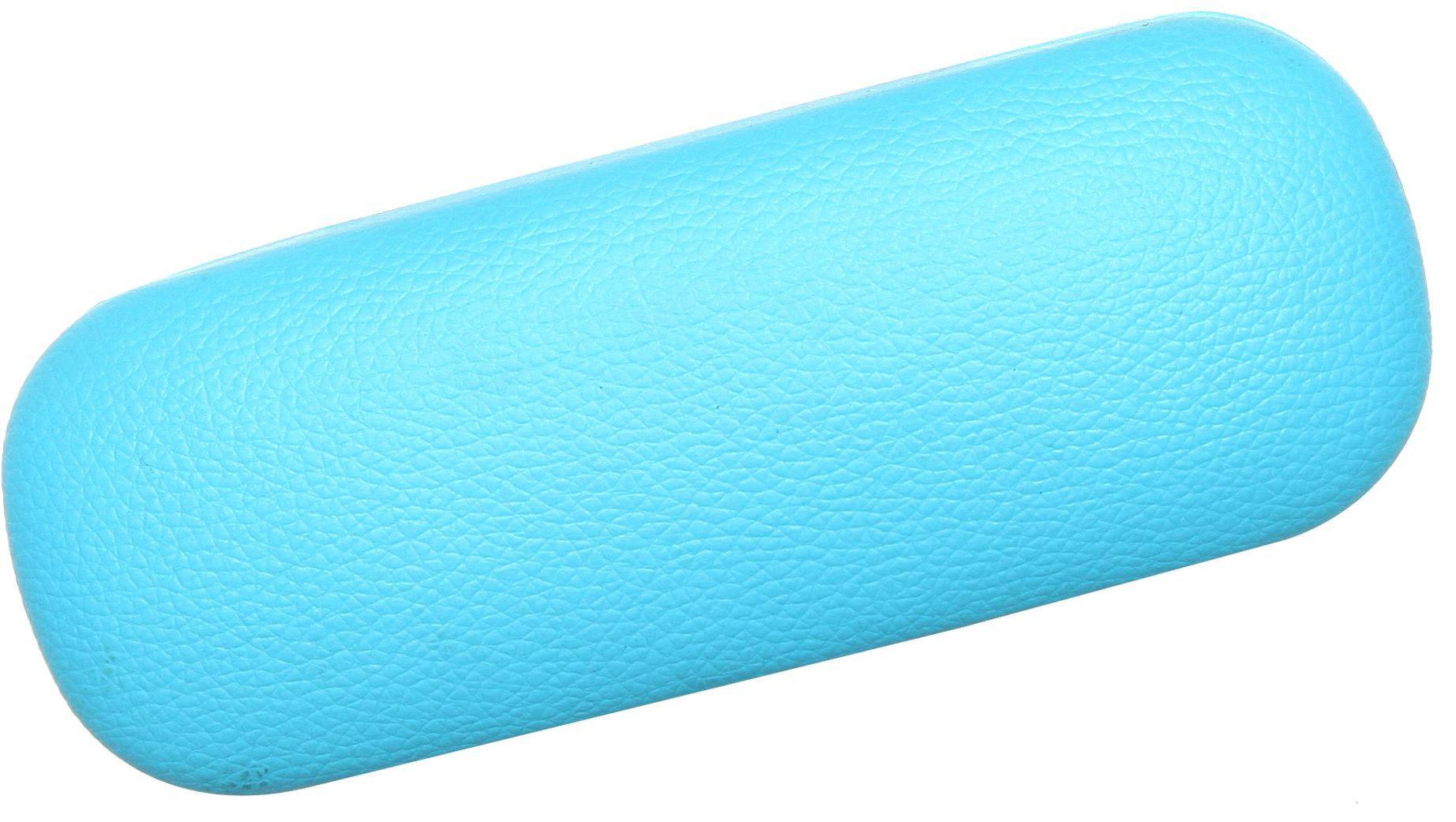 Proffi Home Футляр для очков Fabia Monti, овальный, цвет: голубой