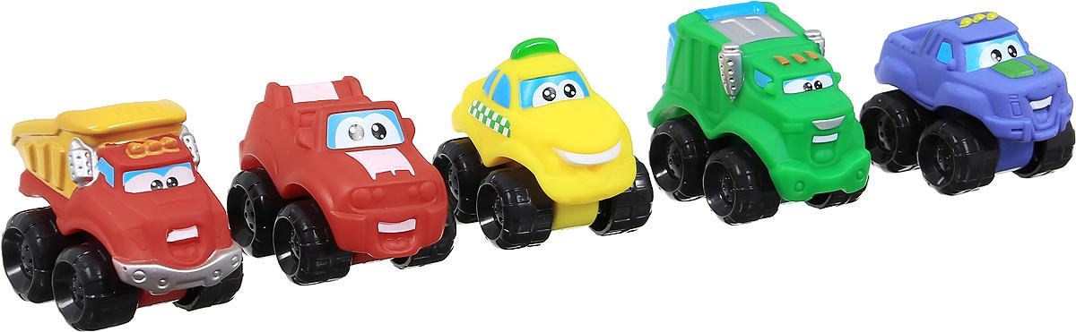 Chuck & Friends Набор машинок Higway Fleet 5 шт92754В обычном городе живет детская кампания, лидером которой является Чак, сорванец и проказник, постоянно попадающий во всевозможные переделки вместе со своими друзьями. Но они не типичные дети - ребята живут в городе, обитатели которого поголовно являются грузовиками, и Чак со своими товарищами так же маленькие грузовички. Жители города ходят на работу, а маленькие ребятишки-грузовички в это время шалят и развлекаются на городской свалке, которая стала для них гоночным треком. Они пытаются оказать помощь взрослым, но малышам постоянно отказывают, ссылаясь на то, что Чак и друзья еще очень маленькие и должны подрасти. Набор машинок Chuck & Friends Girl Higway Fleet представлен из 5 небольших машинок в виде героев мультфильма. Колеса оснащены свободным ходом. Выполнены изделия из пластика с элементами из металла. Такие чудесные машинки будут отличным подарком маленькому поклоннику этого мультсериала. Благодаря игрушкам малыш сможет воспроизводить сценки из любимого мультфильма...