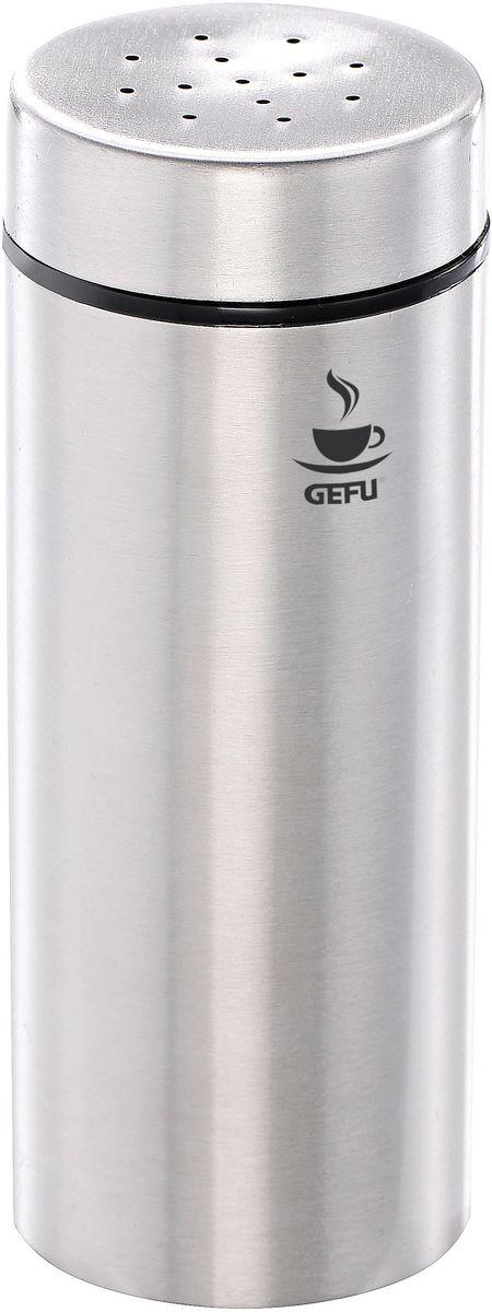 Дозатор для какао Gefu Фина16110При помощи диспенсера можно равномерно посыпать и украшать пирожные, торты или молочную пену . Можно использовать для какао или сахарной пудры. Остальные аксессуары серии Фина позволят сервировать стол едином стиле.