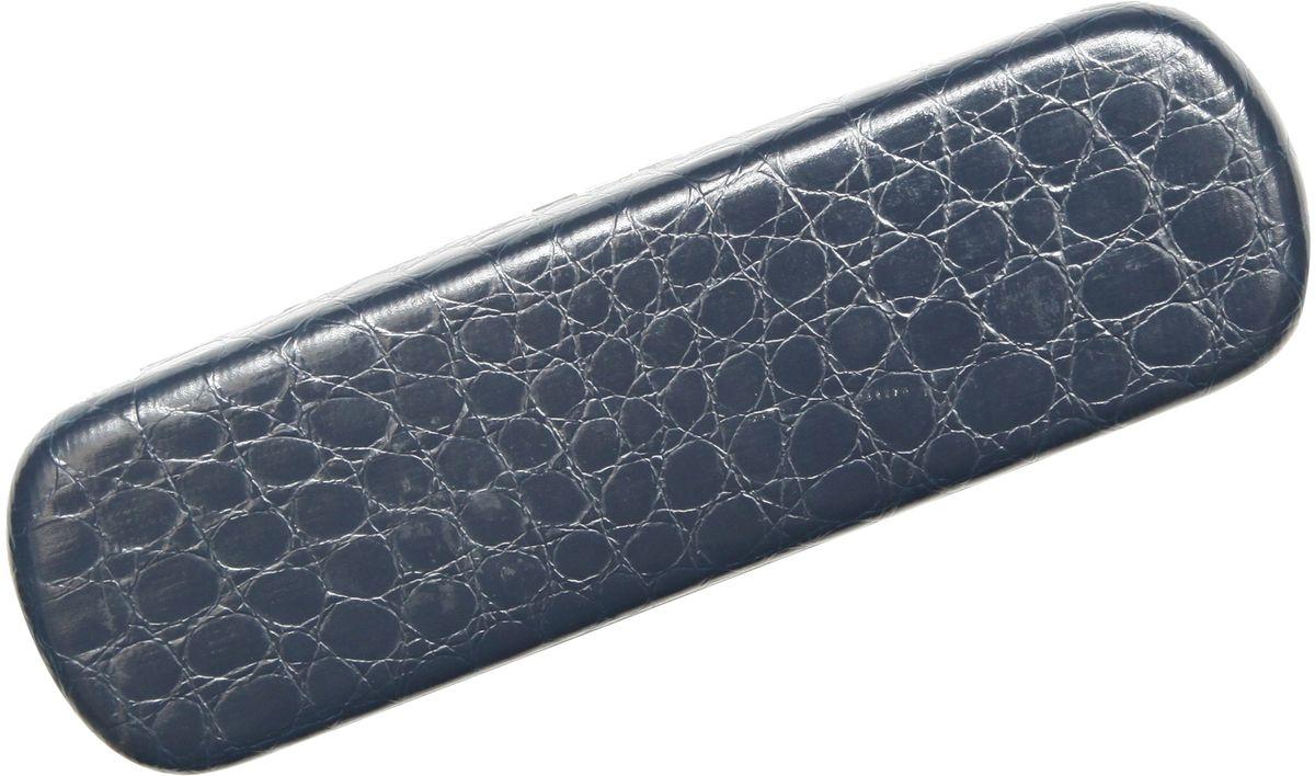 Proffi Home Футляр для очков Fabia Monti, рептилия, цвет: синий