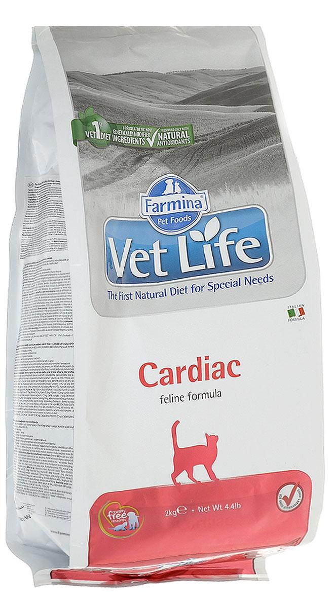 Корм сухой Farmina Vet Life для кошек, для поддержания работы сердца при хронической сердечной недостаточности, диетический, 2 кг30375Farmina Vet Life - это диетическое питание для кошек, предназначенное для поддержания работы сердца при хронической сердечной недостаточности. Диета содержит низкий уровень натрия и оптимальное соотношение калия/натрия. Корм способствует оптимальной работе кишечника. Входящий в состав таурин регулирует сократительную способность миокарда, L-карнитин повышает устойчивость к физическим нагрузкам, Омега-3 оказывает противовоспалительное воздействие. Товар сертифицирован.