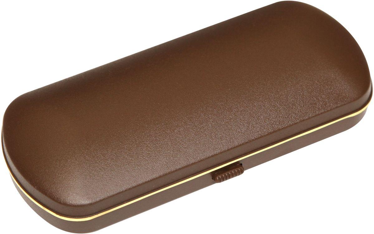 Proffi Home Футляр для очков Fabia Monti, цвет: коричневый