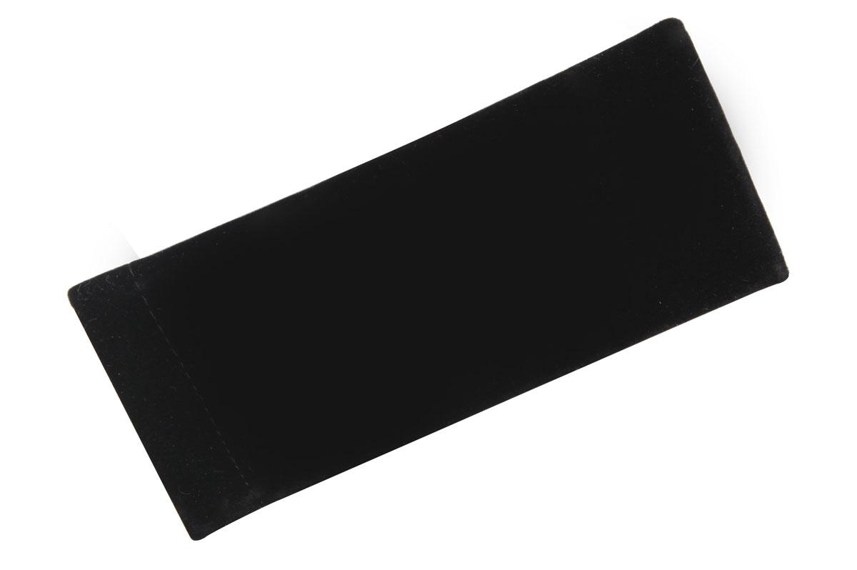 Proffi Home Футляр для очков Fabia Monti текстильный, мягкий, широкий, цвет: черный