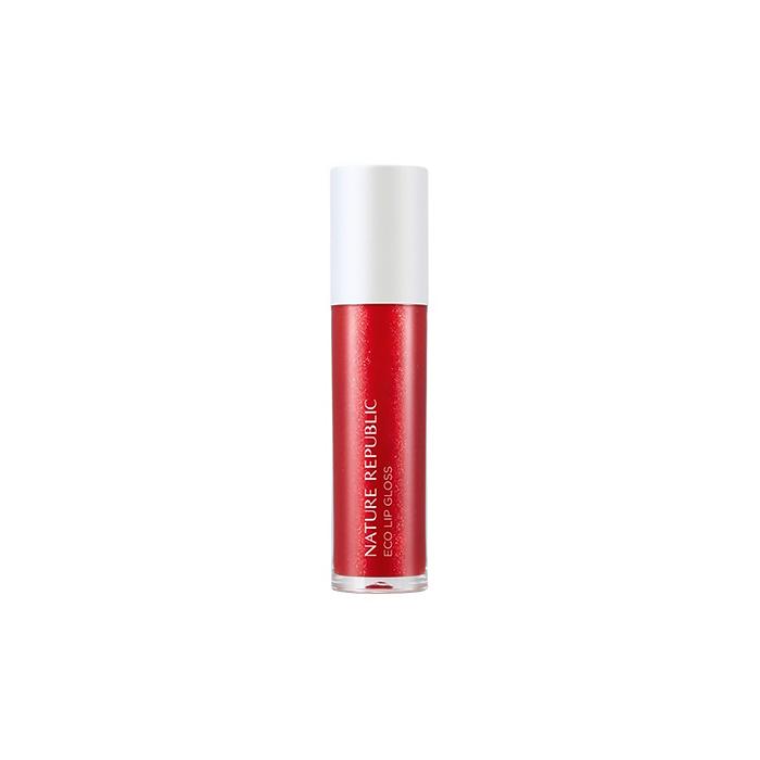 Nature Republic Блеск для губ Eco Lip Gloss #06 Red, 5,8 мл
