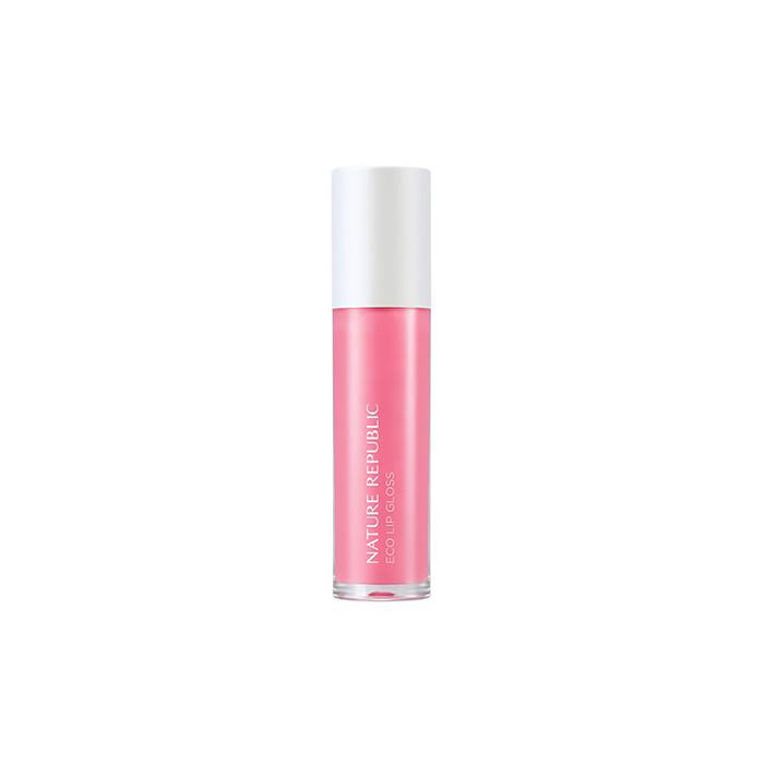Nature Republic Блеск для губ Eco Lip Gloss #04 Pink, 5,8 мл419708Увлажняющий блеск прекрасно восстанавливает сухую кожу губ, предохраняет ее от обветривания, устраняет шелушение и ощущение стянутости, насыщает кожу необходимыми питательными веществами. Средство создает интенсивное глянцевое покрытие с ярким, стойким, зеркальным эффектом. Максимально близкий к натуральному состав средства не вызывает аллергии и раздражения на коже. Держится на протяжении всего дня, при этом легко смывается.