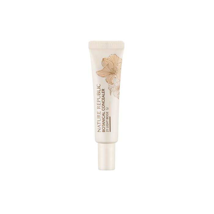 Nature Republic Консилер для маскировки Botanical Cream Concealer #21 Light Beige, 15 мл