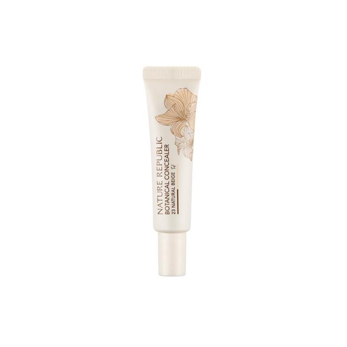 Nature Republic Консилер для маскировки Botanical Cream Concealer #23 Natural Beige, 15 мл
