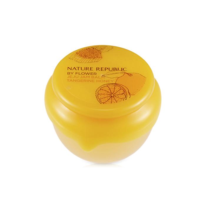 Nature Republic Бальзам для губ с мандарином и медом By Flower Jeju Jam Balm #01 Tangerine Honey, 10 мл