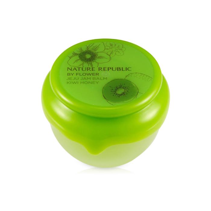 Nature Republic Бальзам для губ с киви и медом By Flower Jeju Jam Balm #02 Kiwi Honey, 10 мл