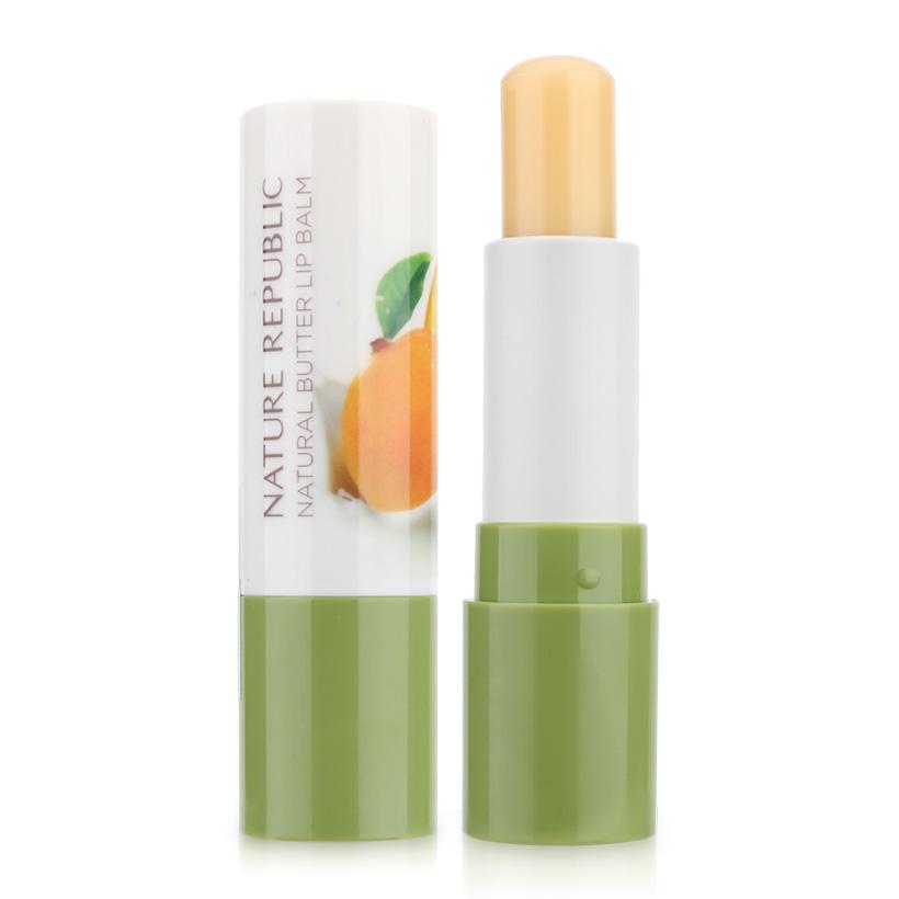 Nature Republic Бальзам для губ 04 Манго Natural Butter Lip Balm 04 Mango, 4 гр