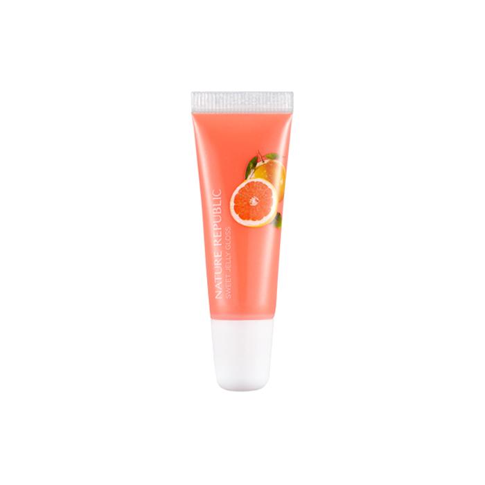 Nature Republic Блеск для губ Sweet Jelly Gloss #03 Grapefruit, 10 мл