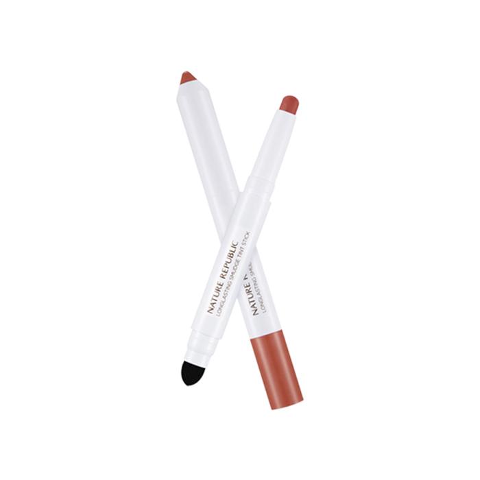 Nature Republic Тинт-стик для губ Longlasting Smudge Tint Stick #01 Linen Beige, 1,4 гр