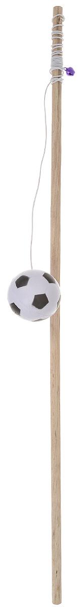 Игрушка для кошек Zoobaloo Удочка с мячиком, длина 1 м132Игрушка для кошки Zoobaloo Удочка с мячиком выполнена в виде прочного бамбукового стержня с резинкой, ярким мячом и бубенчиком для привлечения внимания вашего питомца. Такая игрушка превосходно развивает охотничьи инстинкты вашей кошки, а также развивает моторику передних лап и когтей. Она обязательно порадует вашего любимца, а вам доставит массу приятных эмоций, ведь наблюдать за игрой всегда интересно и приятно. Длина стержня: 50 см. Диаметр мяча: 4 см. Длина резинки: 85 см. Общая длина: 1 м. УВАЖАЕМЫЕ КЛИЕНТЫ! Обращаем ваше внимание на возможные изменения в цветовом дизайне, связанные с ассортиментом продукции. Поставка осуществляется в зависимости от наличия на складе.