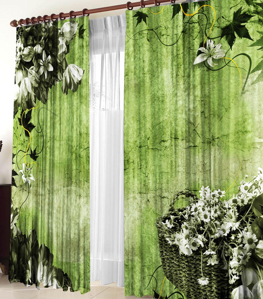 Комплект фотоштор Zlata Korunka Оливия, на ленте, высота 270 см21097Для производства используется габардиновая ткань высочайшего качества. Фотошторы способны не пропускать самый яркий свет, их можно гладить и стирать. Уход: Бережная стирка при 30 градусах, деликатный отжим, отбеливание запрещено, гладить при t не более 150С. Светопоглощение 70%. Плотность ткани - 150 г/м2. Размер: шир. 150 х выс.270.х2 . Оттенок изделия может отличаться от представленного на сайте в силу особенностей цветопередачи фототехники и Вашего монитора.