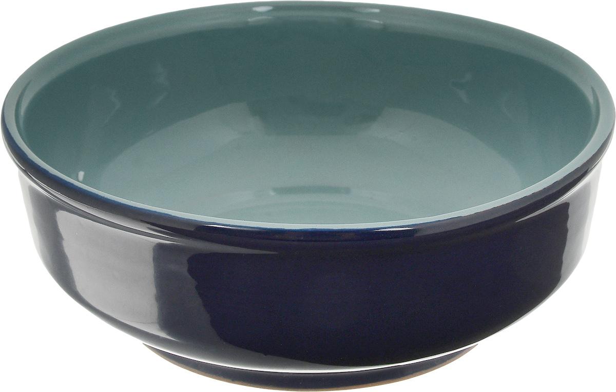 Тарелка глубокая Борисовская керамика Скифская, цвет: темно-синий, бирюзовый, 800 млРАД14457937_темно-синий/бирюзовыйГлубокая тарелка Борисовская керамика Скифская выполнена из высококачественной керамики. Изделие сочетает в себе изысканный дизайн с максимальной функциональностью. Она прекрасно впишется в интерьер вашей кухни и станет достойным дополнением к кухонному инвентарю. Тарелка Борисовская керамика Скифская подчеркнет прекрасный вкус хозяйки и станет отличным подарком. Можно использовать в духовке и микроволновой печи. Диаметр тарелки (по верхнему краю): 16 см. Высота стенки: 7 см. Объем: 800 мл.