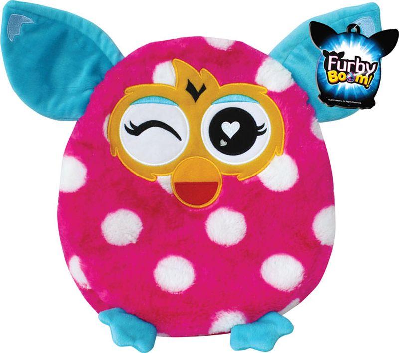 1TOY Мягкая игрушка-подушка Furby 30 см Т57470Т57470Плюшевая подушка Furby 30 см имеет овальную форму, поэтому ребенок сможет как поиграть с ней, так и прилечь на нее с комфортом. Подушка выполнена из мягкого длинного крашеного меха высокого качества, принт которого абсолютно идентичен интерактивному Furby.