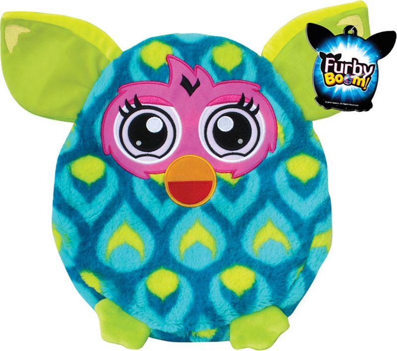 1TOY Мягкая игрушка-подушка Furby 30 см Т57471Т57471Плюшевая подушка Furby 30 см имеет овальную форму, поэтому ребенок сможет как поиграть с ней, так и прилечь на нее с комфортом. Подушка выполнена из мягкого длинного крашеного меха высокого качества, принт которого абсолютно идентичен интерактивному Furby.