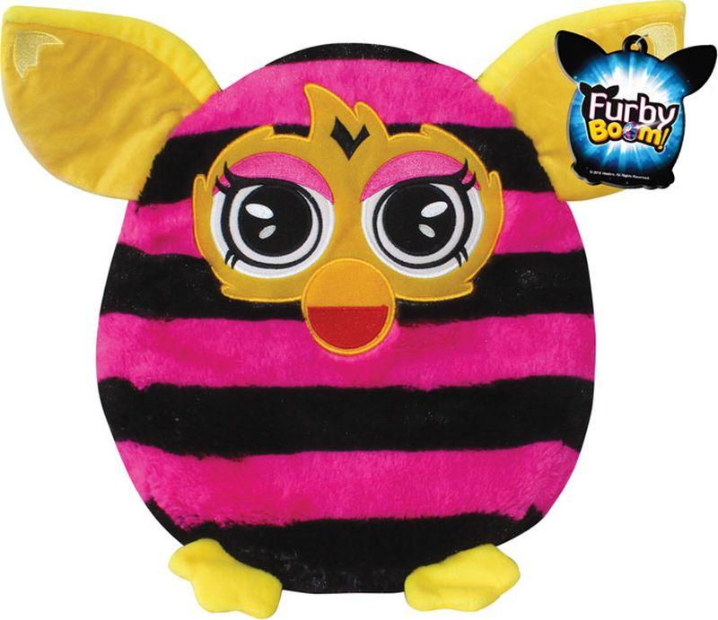 1TOY Мягкая игрушка-подушка Furby 30 см Т57472Т57472Плюшевая подушка Furby 30 см имеет овальную форму, поэтому ребенок сможет как поиграть с ней, так и прилечь на нее с комфортом. Подушка выполнена из мягкого длинного крашеного меха высокого качества, принт которого абсолютно идентичен интерактивному Furby.