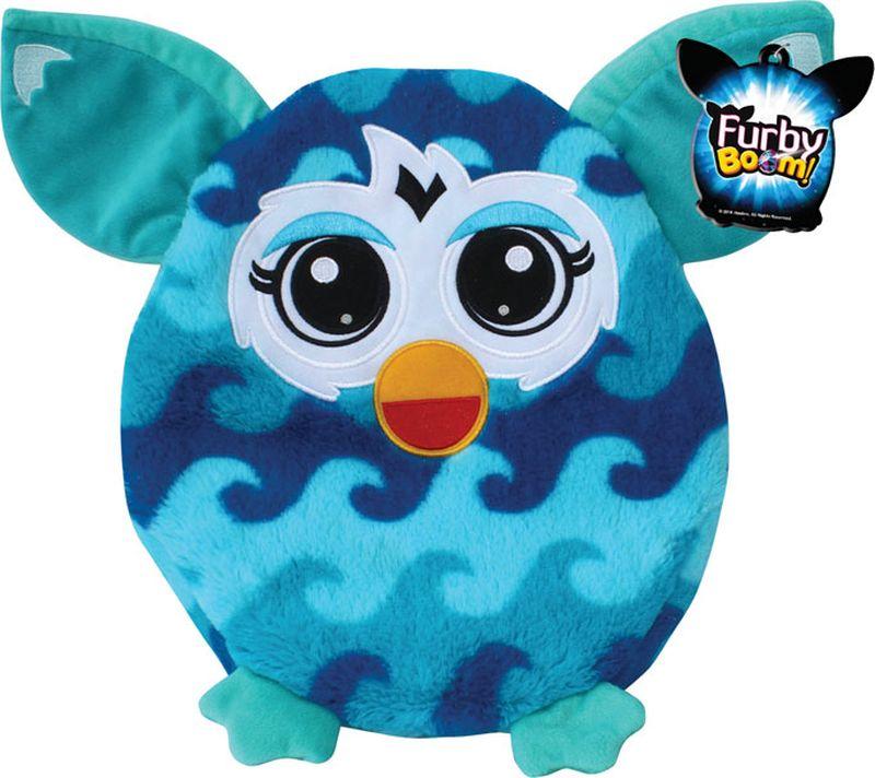 1TOY Мягкая игрушка-подушка Furby 30 см Т57473Т57473Плюшевая подушка Furby 30 см имеет овальную форму, поэтому ребенок сможет как поиграть с ней, так и прилечь на нее с комфортом. Подушка выполнена из мягкого длинного крашеного меха высокого качества, принт которого абсолютно идентичен интерактивному Furby.