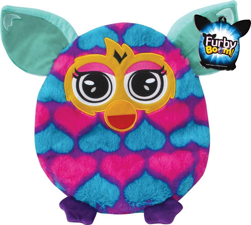 1TOY Мягкая игрушка-подушка Furby 30 см Т57474Т57474Плюшевая подушка Furby 30 см имеет овальную форму, поэтому ребенок сможет как поиграть с ней, так и прилечь на нее с комфортом. Подушка выполнена из мягкого длинного крашеного меха высокого качества, принт которого абсолютно идентичен интерактивному Furby.