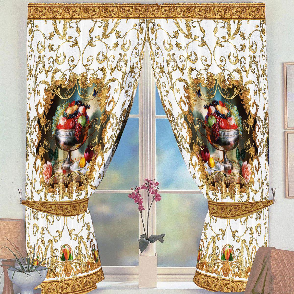 Комплект штор для кухни Zlata Korunka